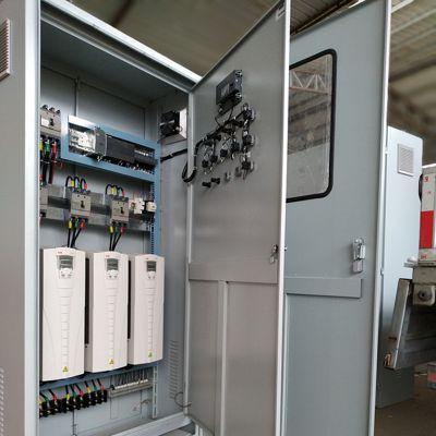 新城区高性能矢量变频器控制柜 手动自动一体变频柜 操控简便