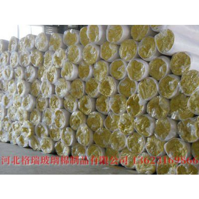 厂价批发铝箔玻璃棉卷毡 5cm贴箔玻璃棉卷毡