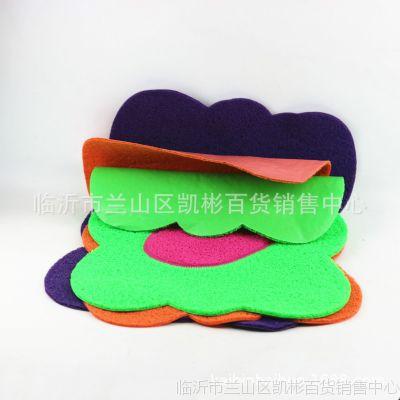 双色拼花拉丝脚垫 进门地垫  客厅卫生间防滑地垫10元地摊货源