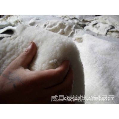 厂家专业生产 优质鞋里皮 天然纺织原料绵羊皮