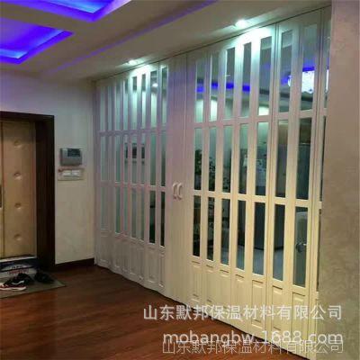 定做销售豪华型PVC折叠门 带玻璃折叠门 商场推拉门 可折叠门