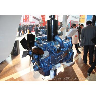 潍柴动力WD10G156E3发动机 115KW推土机用欧三低速柴油机