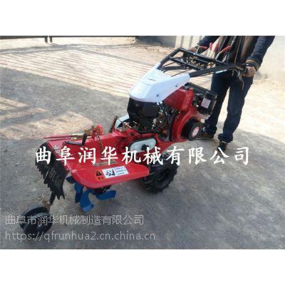单人操作农田开沟除草机 柴油动力开沟起垄机