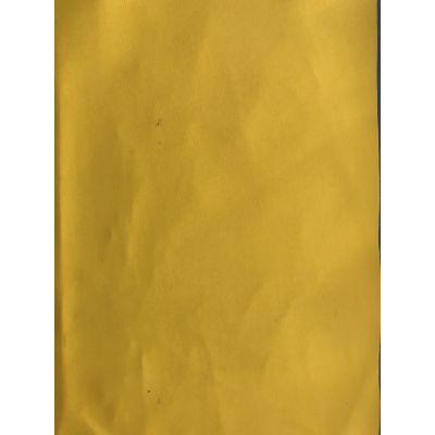 供应黄色pvc库存革 现货 围裙袖套 幅宽137cm