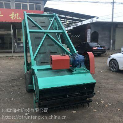 干草料装取车 适合大型青贮坑用取料机 润丰