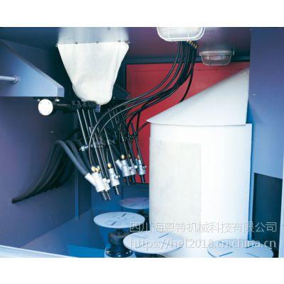 四川铝铸造件自动喷砂机