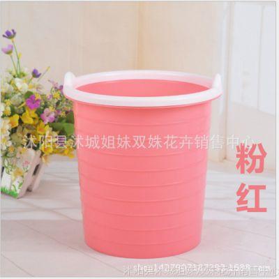 批发;创意客厅厨房垃圾桶 家用 办公垃圾篓圆形厕所塑料垃圾桶