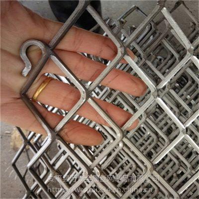 工厂生产低碳钢板网 镀锌重型钢板网承重菱形网
