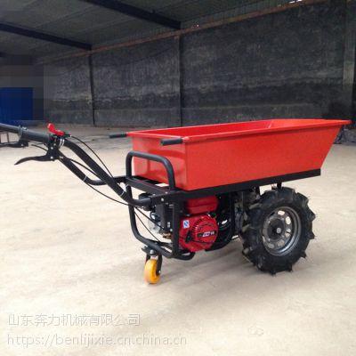 爬坡拉沙子的小推车 车斗可拆卸式翻斗车 奔力SL-STC