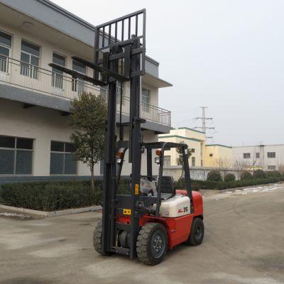 供应直销3吨小型液压叉车 仓库搬运叉车 轮胎式柴油装移叉车