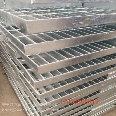 镀锌化工钢格板制造厂家 湖北设备平台钢格栅 道路排水沟盖板厂家