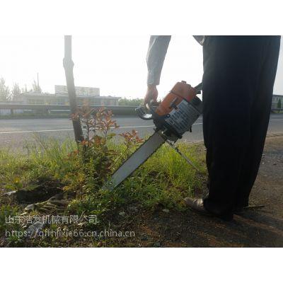 轻便省油挖树机 起树机器起苗机 动力强劲