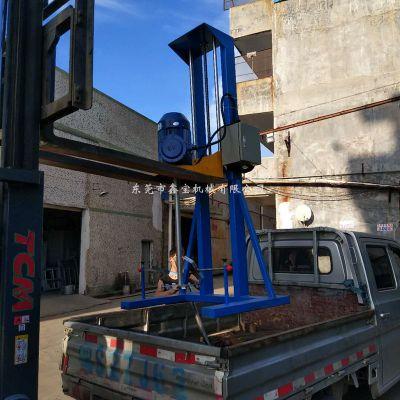 长沙5.5KW液体分散机 鑫宝高速液体搅拌机厂家现货