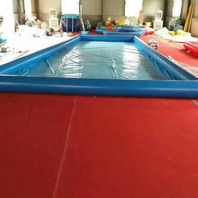 夏天太热广场做什么生意好水上游乐设备充气游泳池清凉一夏
