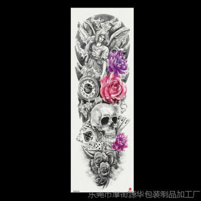 纹身贴 2018新款全臂纹身贴 team bride 亚马逊专供 厂家支持定制