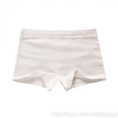 4条装女童纯棉5内裤短裤衩6白色底裤打跳舞8黑色9平角跳舞2-13岁