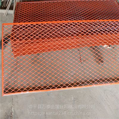 重型钢板网 菱形拉伸网片 建筑抹墙钢板网 现货供应