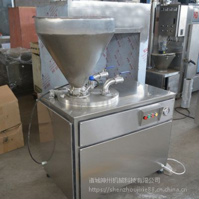 诸城神州大型液压灌肠机 全自动多功能灌肠设备