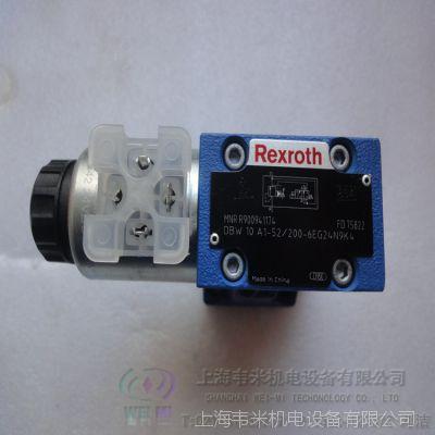 REXROTH溢流阀DBW10A1-52/200-6EG24N9K4原装