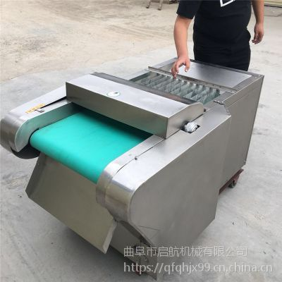 食堂大白菜切片机 大头菜切丝机参数 启航豆腐干切丝机