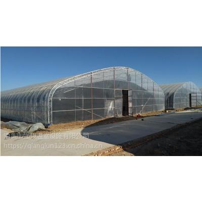 在现代新型大棚中很受欢迎,成本低高强度,镀锌椭圆管大棚骨架在温室建设地位加强。