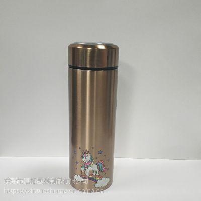 不锈钢保温杯水转印加工成品订制 夜光个性定制图案水标贴纸加工