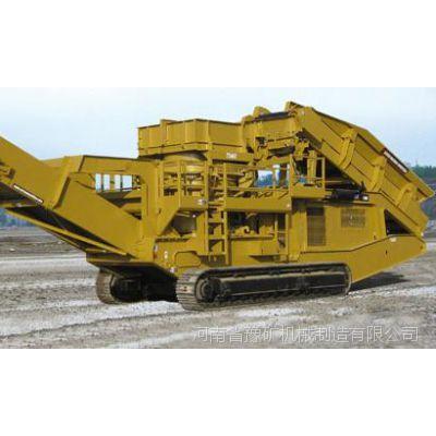 南京移动式建筑垃圾破碎机,移动式重锤破碎机,方大可逆制砂机