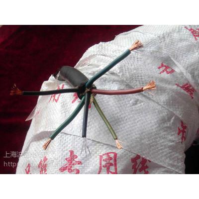 厂家直销沪贤YC3*4+2*1.5mm通用橡套五芯电缆线,百米国标包检测