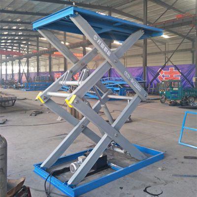 青岛厂家定制SJG3T固定式卸货平台 剪叉式举升机 液压升降货梯