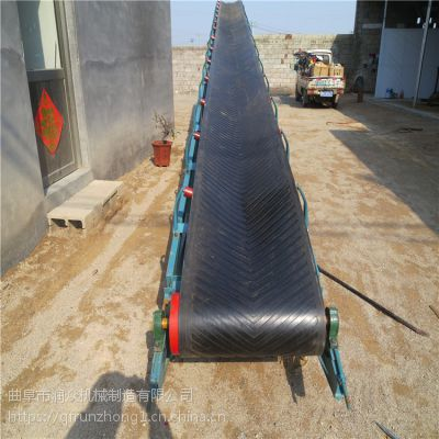 快递配套流水线皮带机 工业防爆电机输送机 矿用加厚坚固型输送机