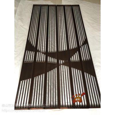 简约家装仿青/红古铜不锈钢屏风异型造型封板款式新颖