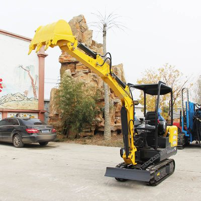 履带式小型挖掘机 果园园林用液压挖掘机 18小型微挖厂家直销