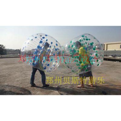 河南透明球球碰碰球高质量材质耐用好玩