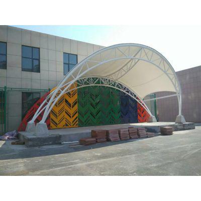 驻马店七色膜结构看台定制 鹤壁收费站膜结构工程