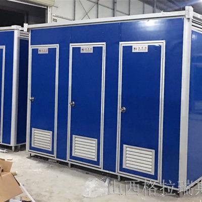 山西忻州临时公厕环保移动厕所五台山旱厕厂家供应