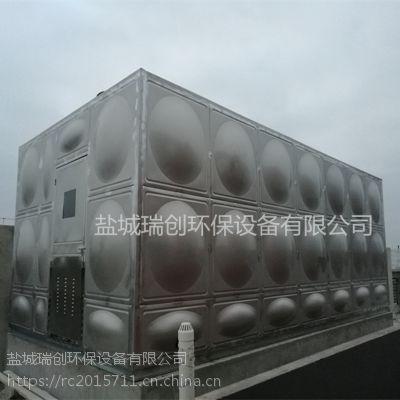 箱泵一体化水箱 304材质不锈钢泵房水箱 消防稳压成套设备 瑞创定制