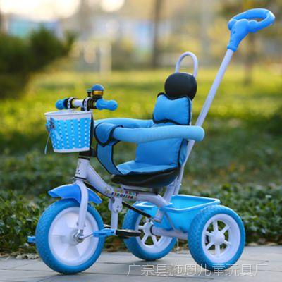 新款儿童三轮车宝宝童车脚踏车1-3-5岁小孩自行车婴儿手推车
