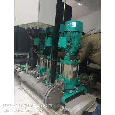 供应北京各种型号供水机组专业维修保养