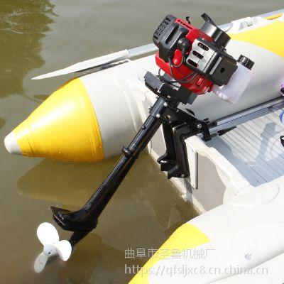 低噪音船挂机 船尾发动机 圣鲁牌图片 价格