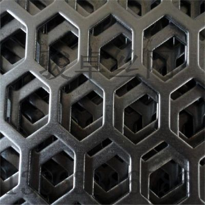 铝板冲孔网 吸音打孔板 椭圆型冲孔钢板