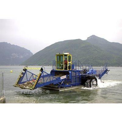 新疆二手自卸式割草船 电动水面清洁船