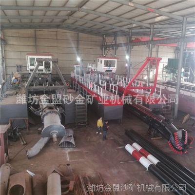 陕西挖泥船 陕西西安绞吸式挖泥船工作现场视频 陕西挖泥船订制