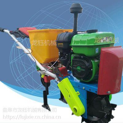 全国联保小麦汽油播种机 汽油双行播种机供应