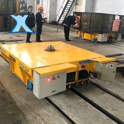 百特智能三项轨道平车 电动轨道过跨车 平板导轨车可定制