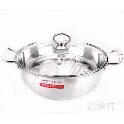 加厚不锈钢桑拿锅蒸汽火锅海鲜锅家用多功能单层蒸锅电磁炉专用