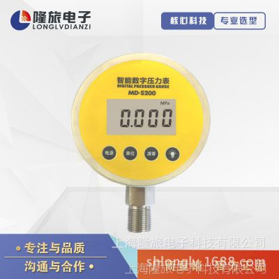 上海隆旅高精度数字压力表电池款压力表 品质好 价格实惠YL-807
