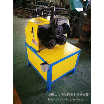 安徽50型电动角钢卷圆机 角铁法兰卷圆机生产厂家