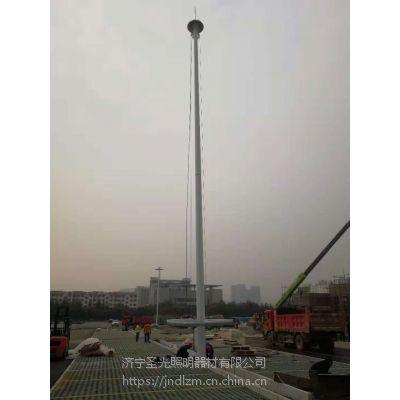 供应济宁港口30米高杆灯施工安装