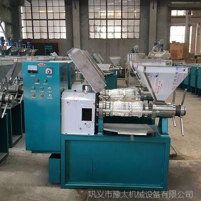 豫太机械全自动螺旋榨油机 商用智能花生菜籽榨油机