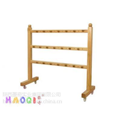西安厂家供应幼儿园实木儿童毛巾口杯架